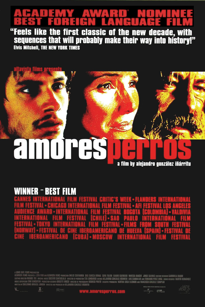amores perros movie. AMORES PERROS MOVIE POSTER SS ORIGINAL ROLLED 27x40 | eBay