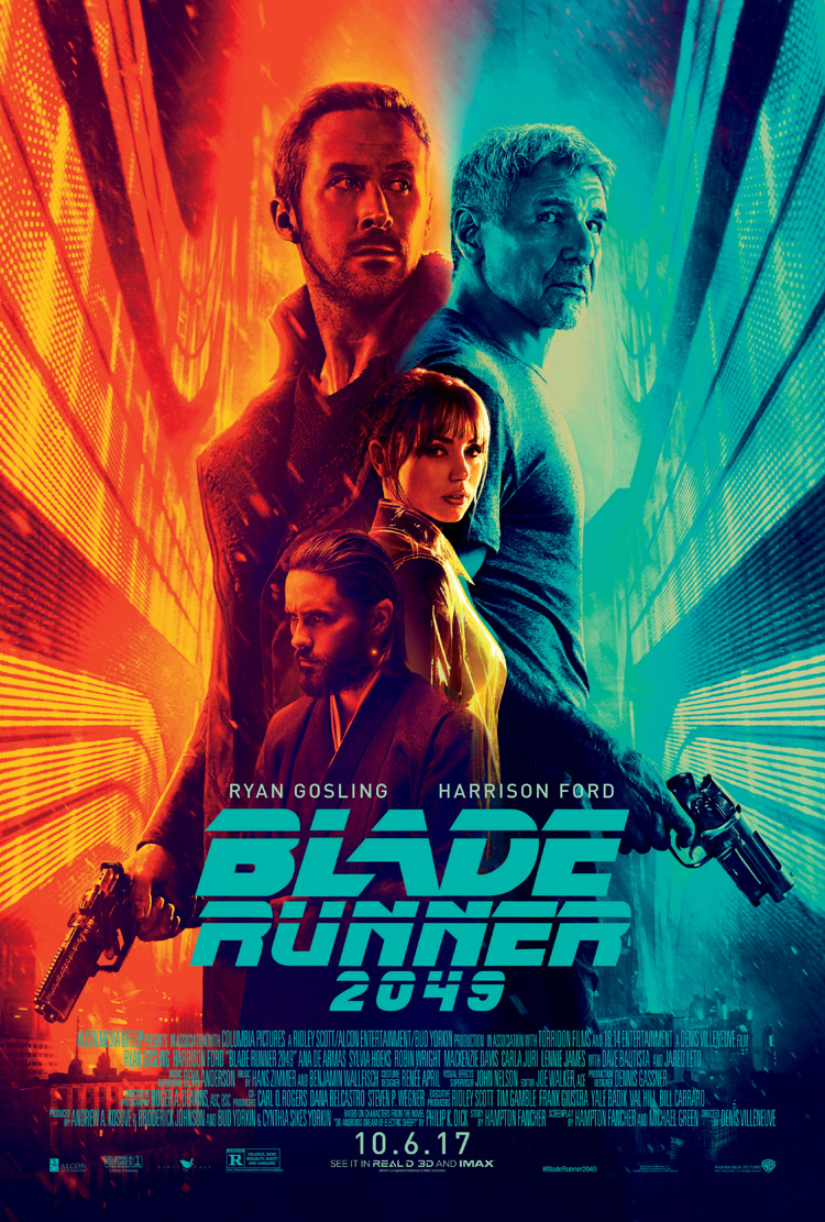 This Is An Auction For A BRAND NEW UNUSED Near Mint Condition Double Sided ORIGINAL US 1 Sheet Poster The Movie BLADE RUNNER 2049