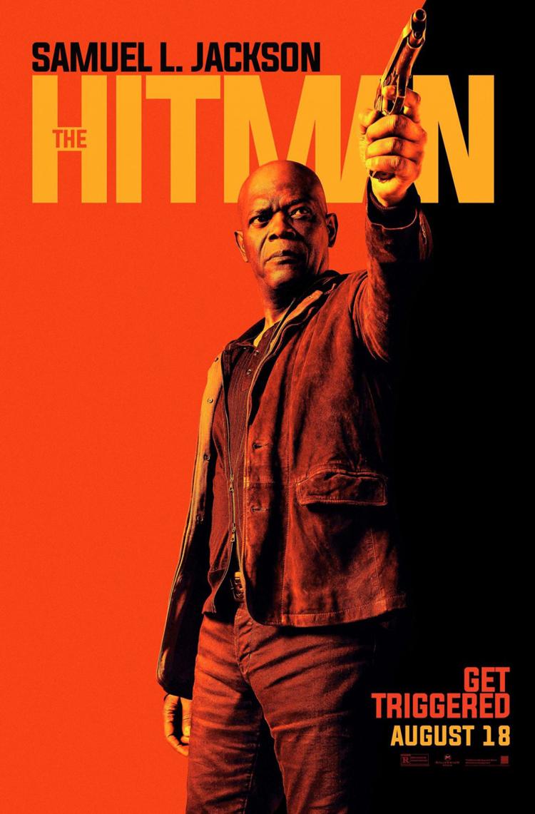 The Hitman S Bodyguard Movie Poster 2 Sided Original 27x40 Samuel