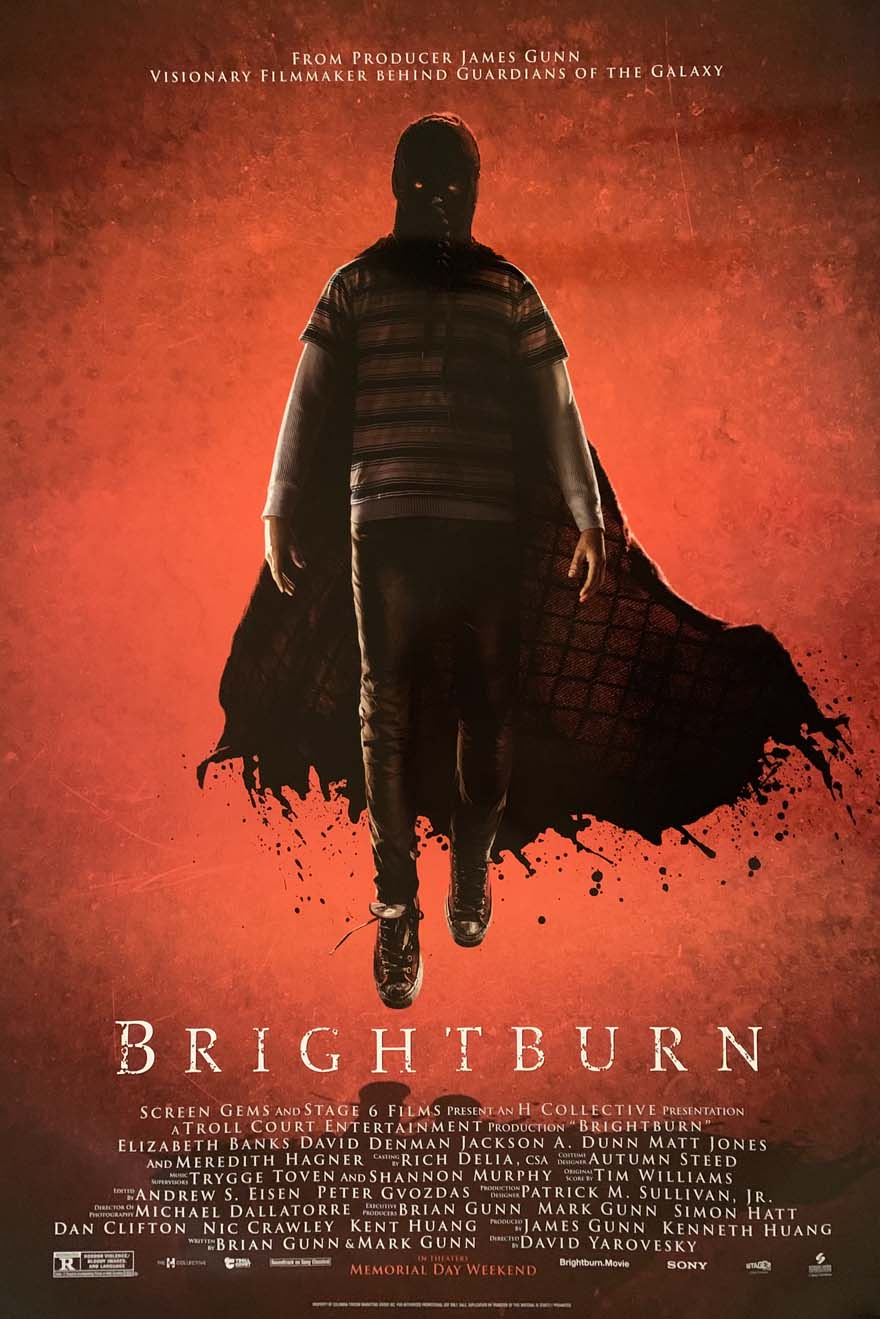 BRIGHTBURN MOVIE POSTER 2 Sided ORIGINAL FINAL 27x40 ELIZABETH ...