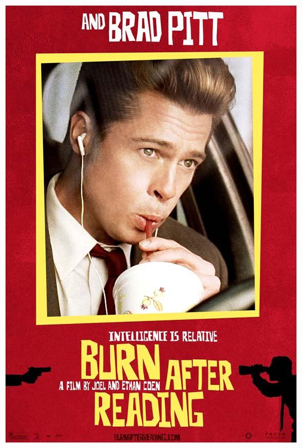 Image result for burn after reading poster