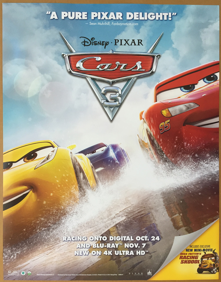 Cars 3: Evolution 2017 Kostenlos Online Anschauen - HD ... |Cars Movie Poster Free Candy