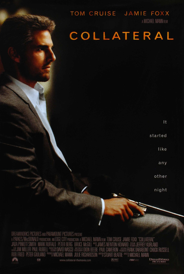 tom cruise movies posters. COLLATERAL MOVIE POSTER SS ORIGINAL TOM CRUISE 27x40 | eBay