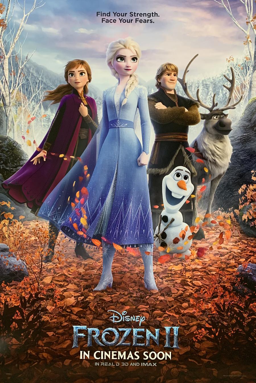 Image result for frozen 2 poster
