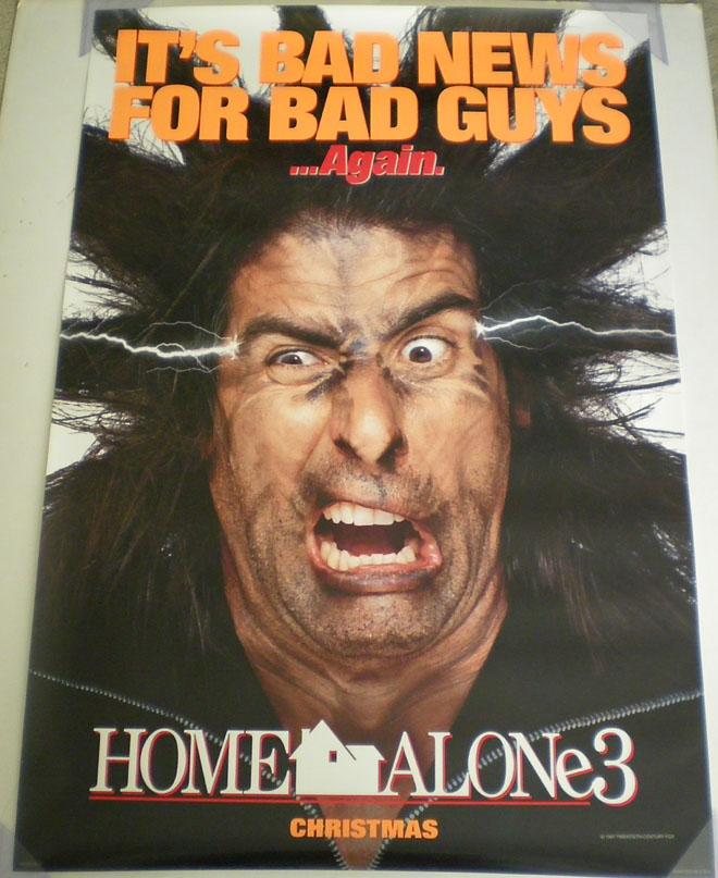 HOME ALONE 3 MOVIE POSTER 1 Sided ORIGINAL Ver C 27x40   eBay