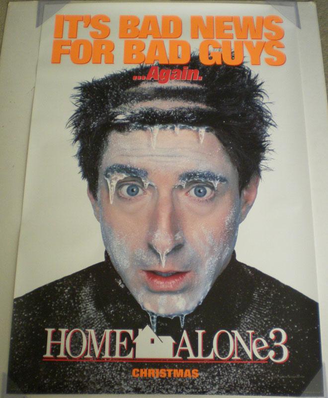 Home Alone 3 Movie Poster 1 Sided Original Ver B 27x40 Ebay