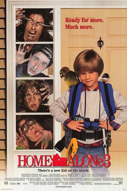 Home Alone 3 Movie Poster 2 Sided Original Final 27x40 Ebay