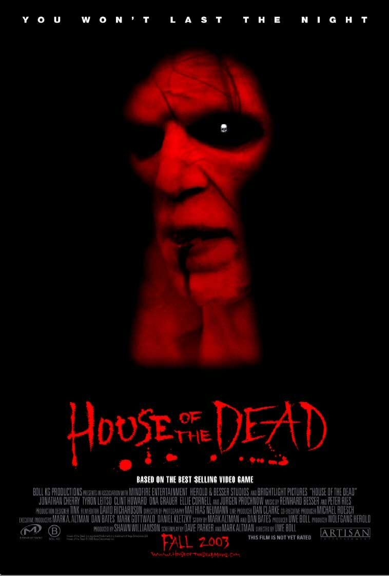 house of the dead movie poster 2 sided original 27x40 ebay