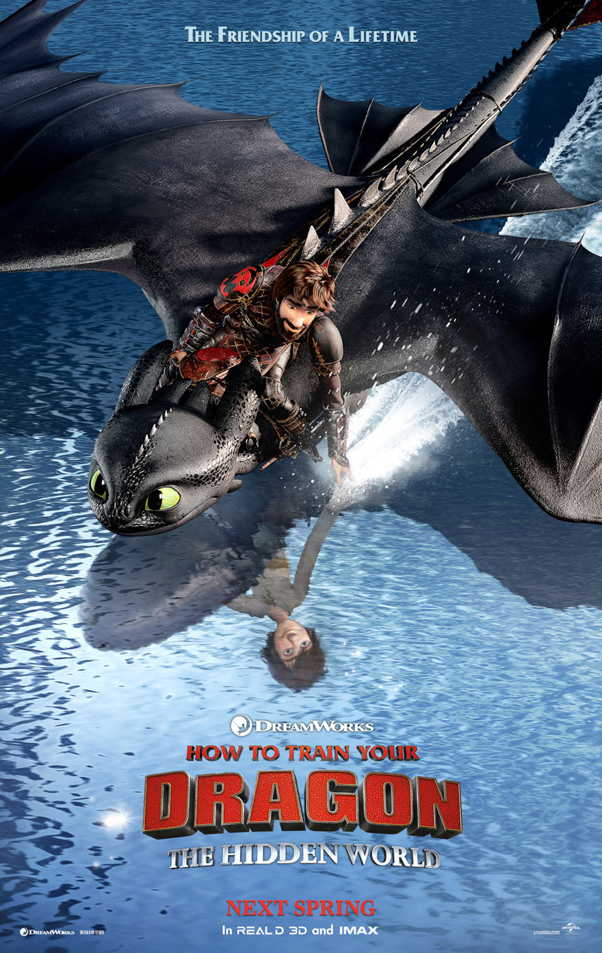 How To Train Your Dragon 3 The Hidden World Movie Poster Ds Original C 27x40 Ebay