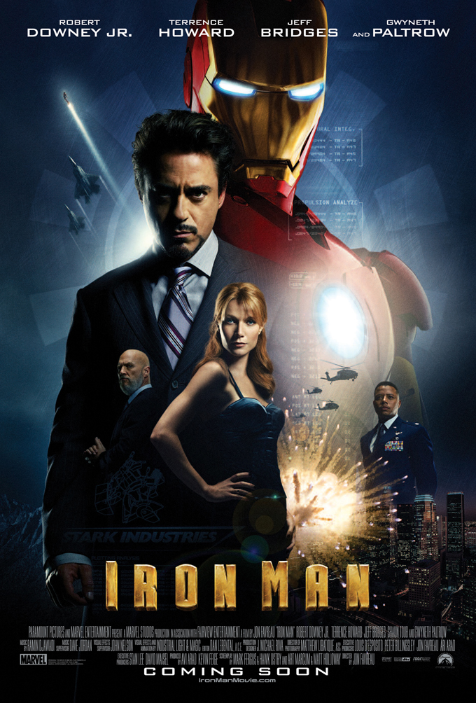 Image result for iron man 1 poster