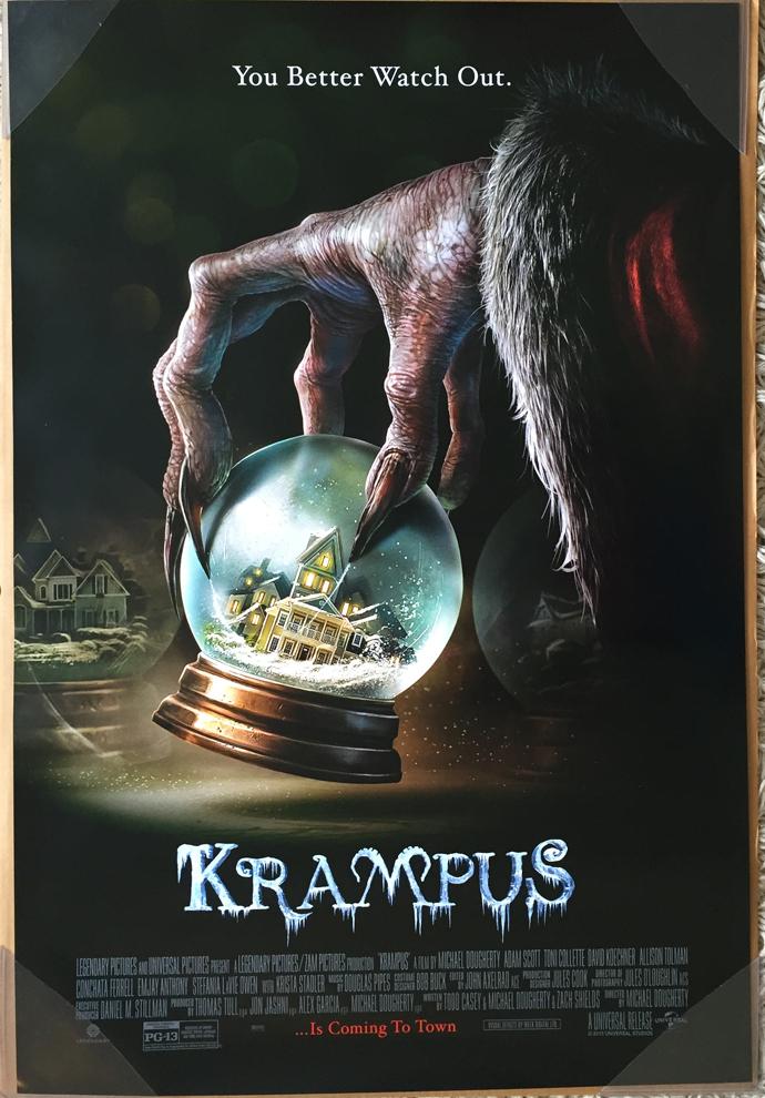 KRAMPUS MOVIE POSTER 2 Sided ORIGINAL FINAL 27x40 ADAM ...