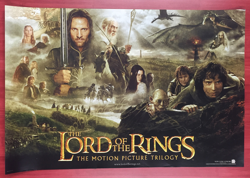 Lord Of The Rings Return Of The King Movie Poster 1 Sided Original