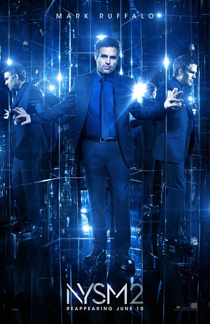 Details About Now You See Me 2 Movie Poster 2 Sided Original 27x40 Mark Ruffalo