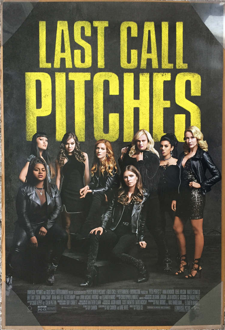 Details about PITCH PERFECT 3 MOVIE POSTER 2 Sided ORIGINAL FINAL 27x40  ANNA KENDRICK