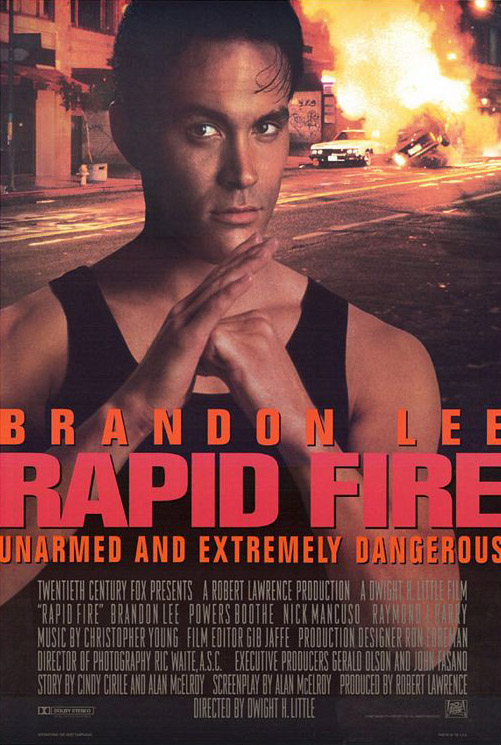 RAPID FIRE MOVIE POSTER 2 Sided ORIGINAL ROLLED 27x40 ...