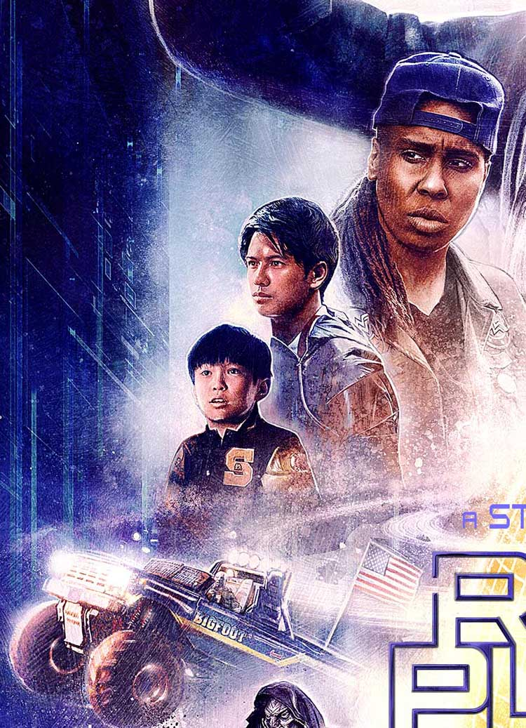 READY PLAYER ONE MOVIE POSTER 2 Sided ORIGINAL RARE FINAL ...