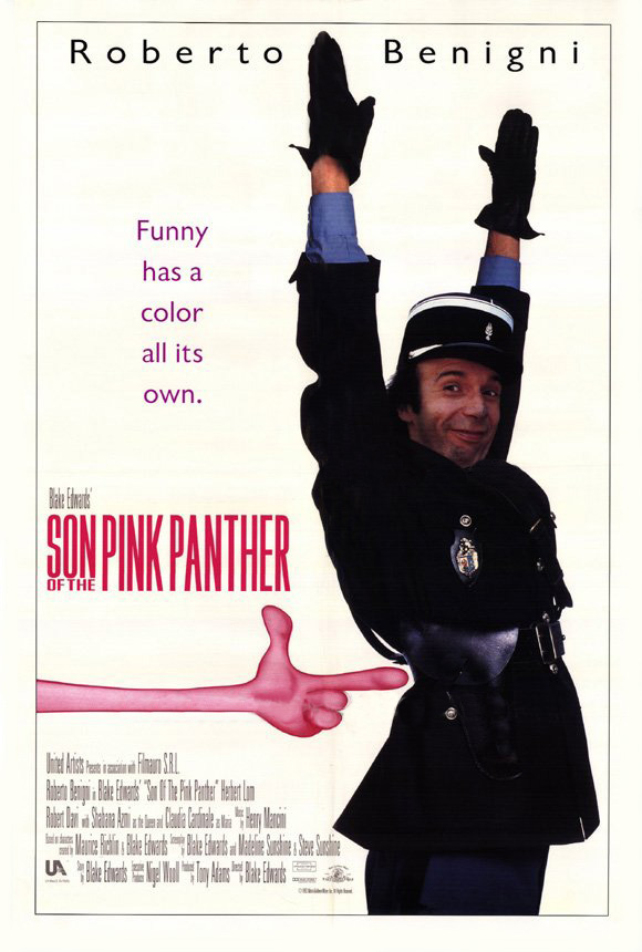 pink panther original movie poster