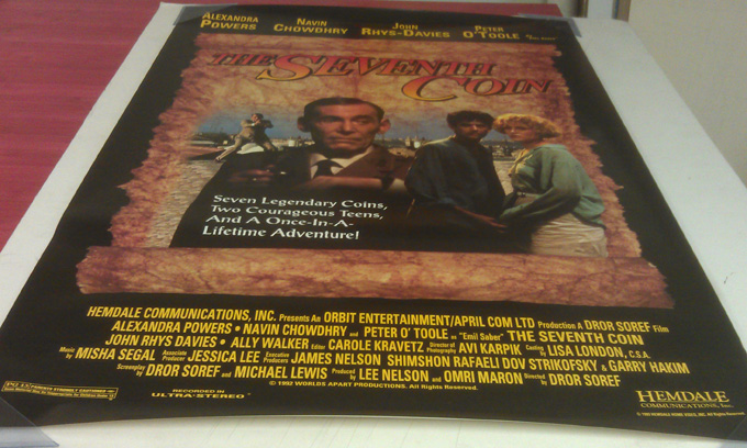 THE SEVENTH COIN MOVIE POSTER 1 Sided ORIGINAL ROLLED ...