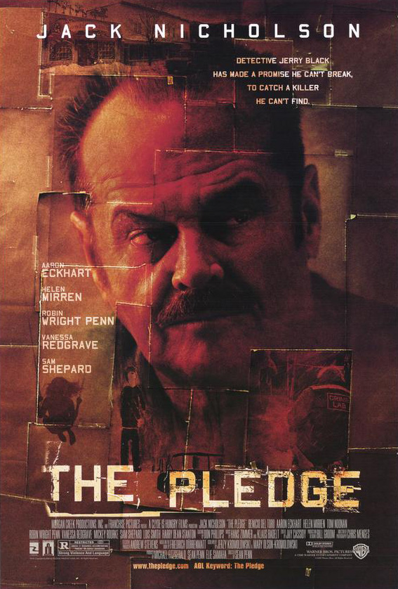 THE PLEDGE MOVIE POSTER 2 Sided ORIGINAL ROLLED 27x40 | eBay