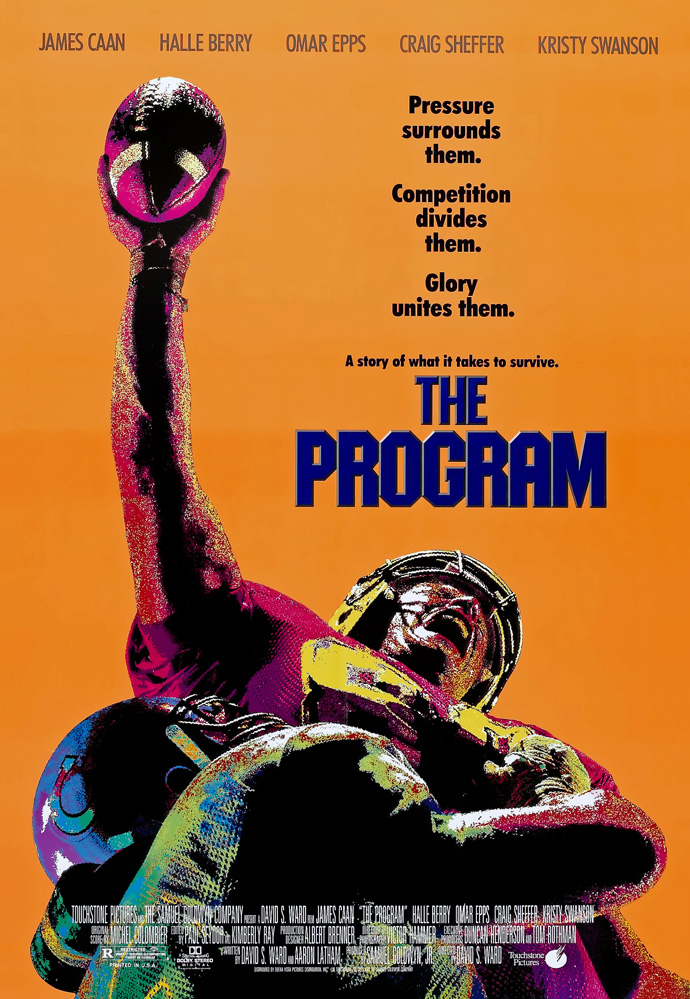 THE PROGRAM MOVIE POSTER 2 Sided ORIGINAL ROLLED 27x40 ...