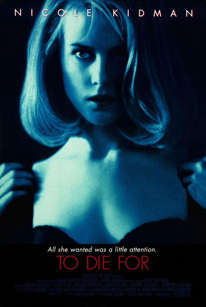 TO DIE FOR MOVIE POSTER 1 Sided ORIGINAL 27x40 NICOLE ...