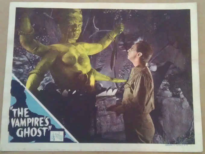Image result for images of 1945 movie the vampire's ghost