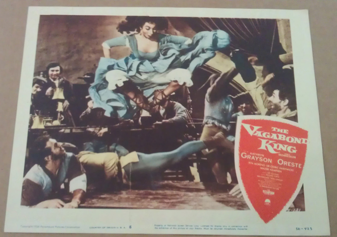 The King and I 11x14 Movie Poster 1956