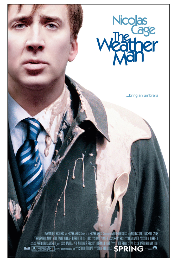 THE WEATHER MAN MOVIE POSTER 2 Sided ORIGINAL ROLLED 27x40 ...